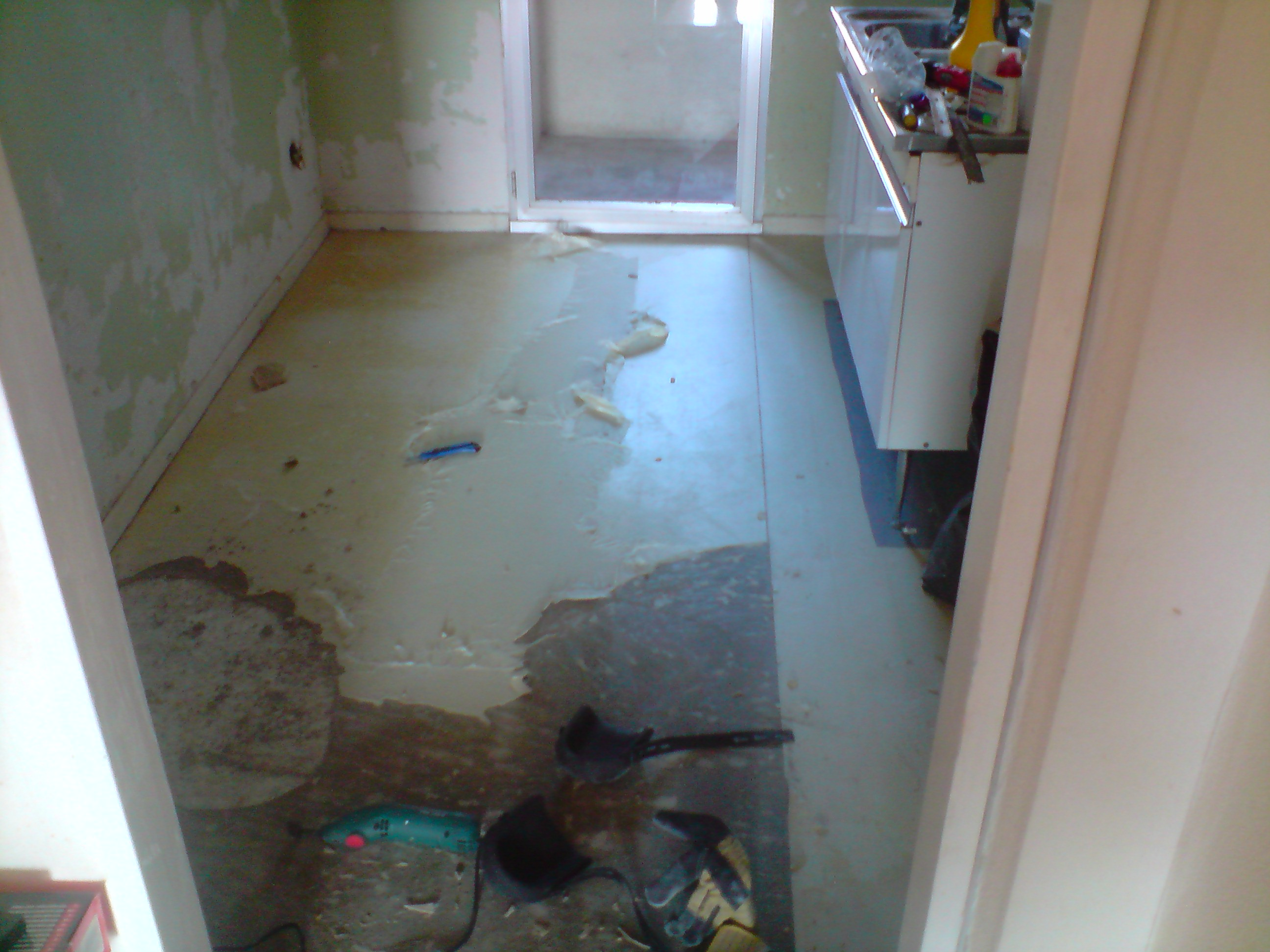 R novation d un appartement le lino - Sous couche lino ...