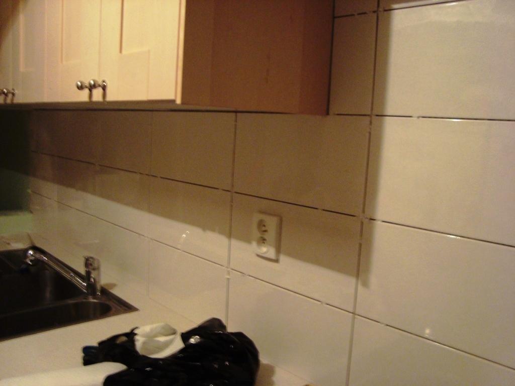 R novation d un appartement cuisine for Renovation credence cuisine
