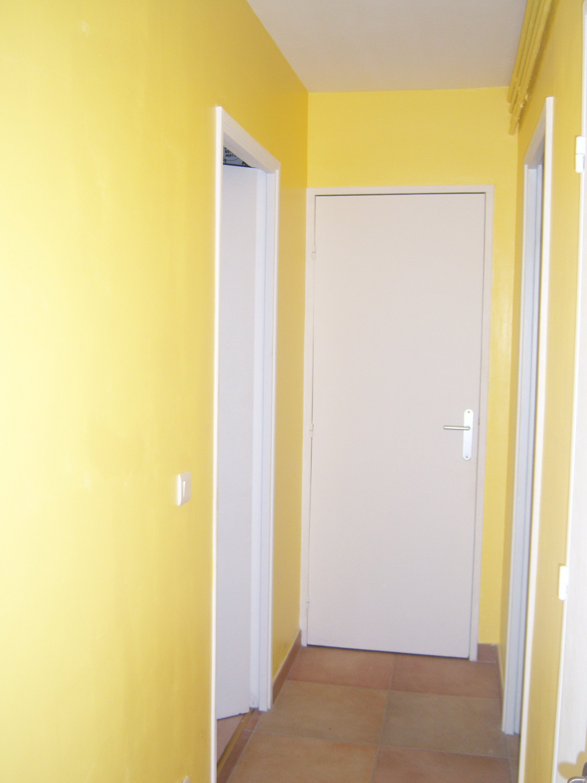 R novation d un appartement for Quelle couleur pour un couloir sans fenetre